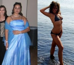 Gabi, before and after!