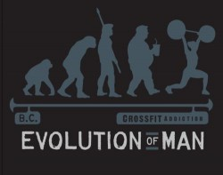 Evolution of man...as we want it to be-fit, healthy and functional!