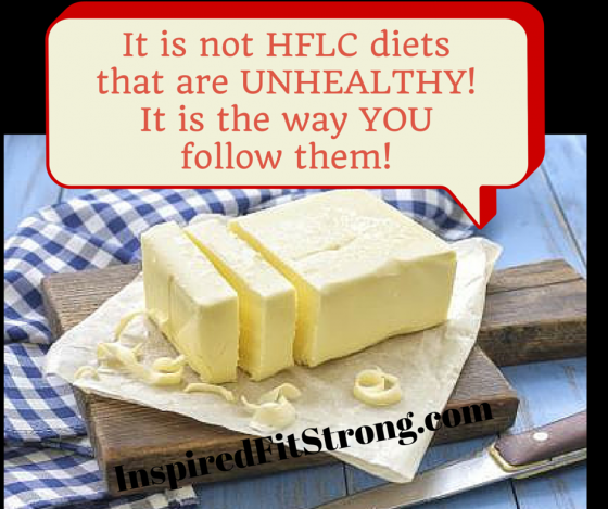 It is not HFLC diets that are UNHEALTHY! (1)